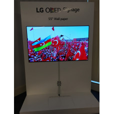 LG 55EJ5C Oled Wallpaper Dünyanın En ince En Hafif Oled Monitörü